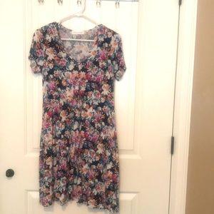 🌸 Chris & Carol Floral Print Dress